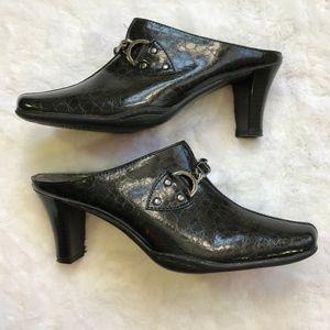 Aerosoles Black Ankle Booties Slip on Size 8B
